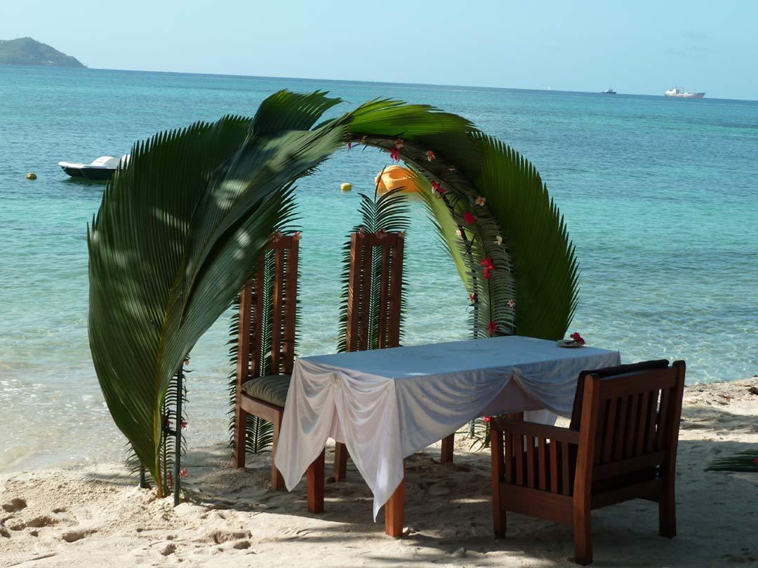 Cerf Island Resort Seychelles Hotel Holiday Spa Restaurant Strand bryllupsreiser Bryllup Vacations