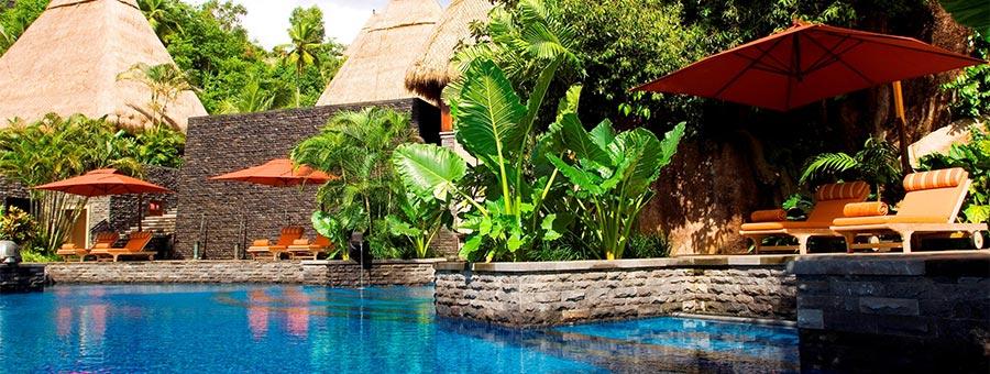 Maia Luxury Resort Spa Anse Louis Mahe Seychelles Exclusive